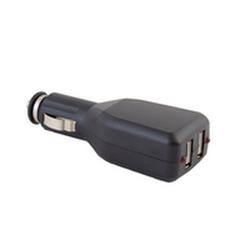 Адаптер в прикуриватель 12B - 2 х 5В USB