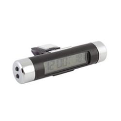 Часы и внутренний термометр с подсветкой, крепление на дефлектор