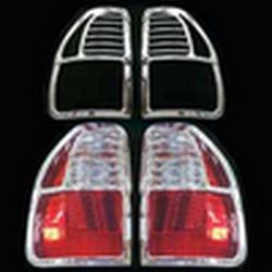 Накладки декоративные хром Isuzu Parthner 2002 г.в. на фонари 8029