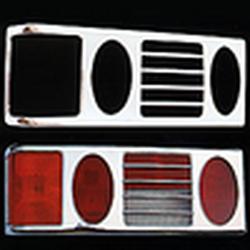 Накладки декоративные хром ВАЗ 2108-21099 на фонари 8427