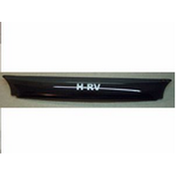 "Дефлектор капота HONDA HR-V  (Logo) 1999- DARK SMOKE - Темные ""SIM"""