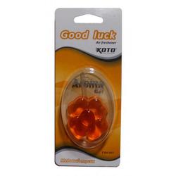 KOTO/Ex-Spider FSH-911 (24/192) Ароматизатор воздуха гелевый Good Luck, Медовый персик