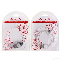USB кабель for Apple iPhone 4 USB-micro USB Activ