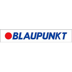 """наклейка """"BLAUPUNKT"""" внутренняя, 70 см, прозрачный фон"""