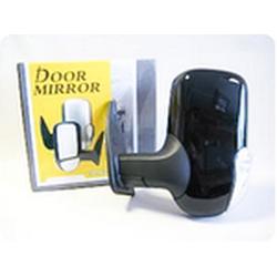Зеркало боковое на ГАЗЕЛЬ 3296 черное, левое, с повторителем поворота и габаритом, 1шт.