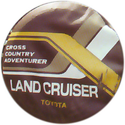 "Чехол на запаску кож-зам BT008C Toyota Land Cruiser 16"" черный"