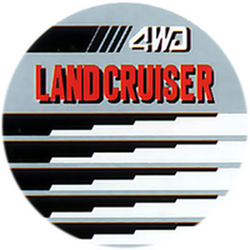 "Чехол на запаску кож-зам BT006C Toyota Land Cruiser 16"" черный"