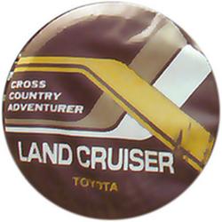"Чехол на запаску кож-зам BT008C Toyota Land Cruiser 15"" черный"