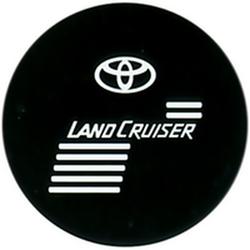 """Чехол на запаску кож-зам BT006A Toyota Land Cruiser 16"""" черный"""
