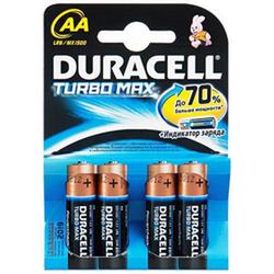 Элемент питания Duracell Turbo Max AA LR6 1500  K4 (1,5V)