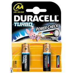 Элемент питания Duracell Turbo AA LR6 1500  K4 (1,5V)