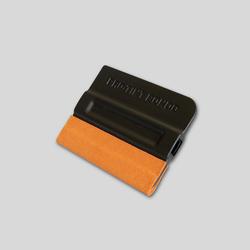 Инструмент для пленки ракель с насадкой из микроволокна 10х8х6,5 см четырех. для деликат. раб.желтый