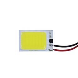"""Вставка светодиодная """"площадка"""" Matrix монолит 16x26 мм белая 18 LED 6300K V2 без корпуса 12В (1шт.)"""