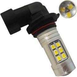 Лампочки светодиодные 9005 HB3 21 LED 3030 LENS бел. 21W 1260 lm 0,5A 12-24В V3