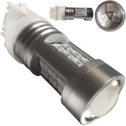 Лампочки светодиодные 3157 без цок. 2к 21 LED 3030 LENS красн. 21W 0,56/0,12A 12-24В V3