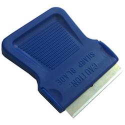 """Нож универсальный для снятия тонировки, удаления клея TM-120 """"нож"""" 38 мм синий пластмасса"""