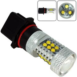 Лампочки светодиодные 9004 P29t 21 LED 3030 LENS бел. 21W 1260 lm 0,5A 12-24В V3