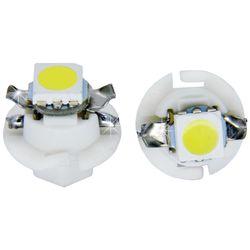 Лампочки светодиодные B8.4d белые 1 LED 5050 SMD d-8,0 с верхними контактами (с ручкой под отв.)