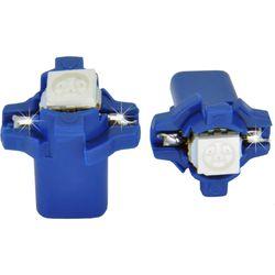 Лампочки светодиодные B8.3d белые 1 LED 5050 SMD d-8,5 с нижними контактами верх фиксат.(с ручкой)