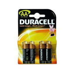 Элемент питания Duracell AA LR6 MN1500, К4 (3+1) (1,5V)