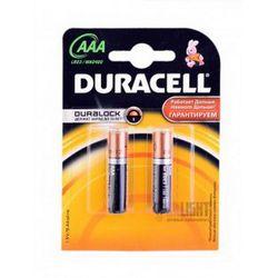 Элемент питания Duracell AAA LR03 MN2400, К4 (3+1) (1,5V)