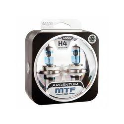 Автолампа H4 (60/55) Argentum +130%  MTF (1 шт.)