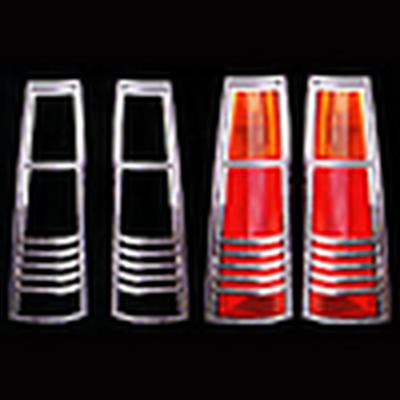 Накладки декоративные хром Honda CR-V 1997-2001 г.в. на фонари 8441