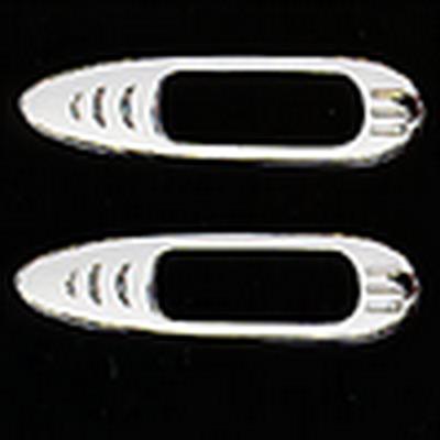 Накладки декоративные хром Honda CR-V 1997-2001 г.в. под повторитель поворотов 8443